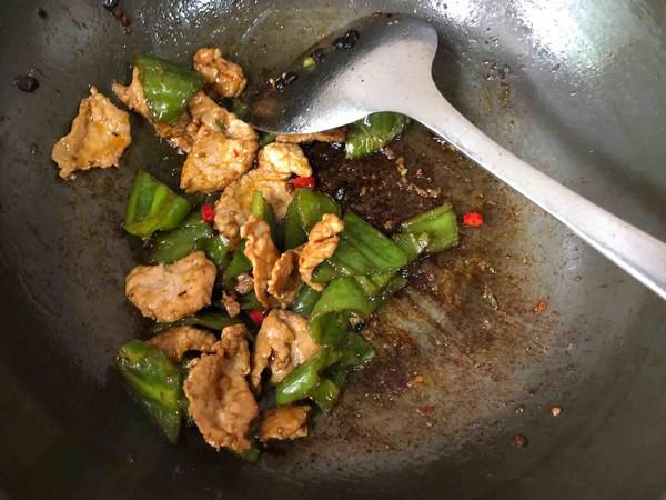 尖椒炒肉片怎么煮