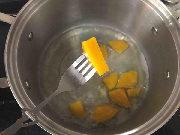 南瓜汁海鲜意面怎么吃