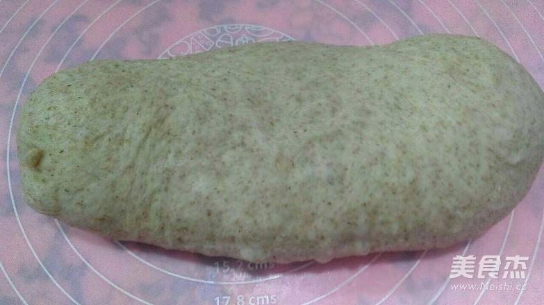 全麦豆沙面包的做法图解
