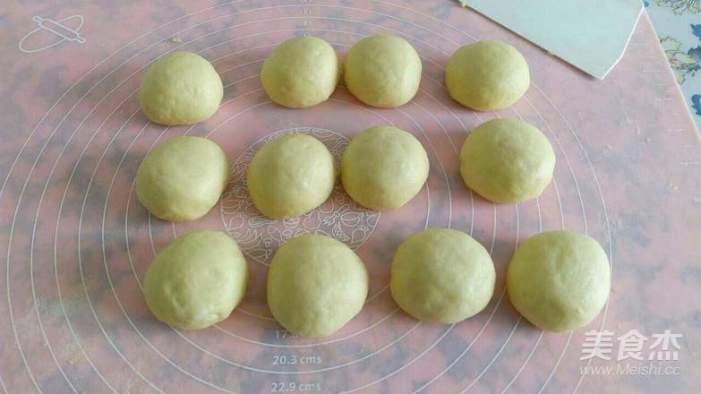 牛奶椰蓉小餐包的简单做法