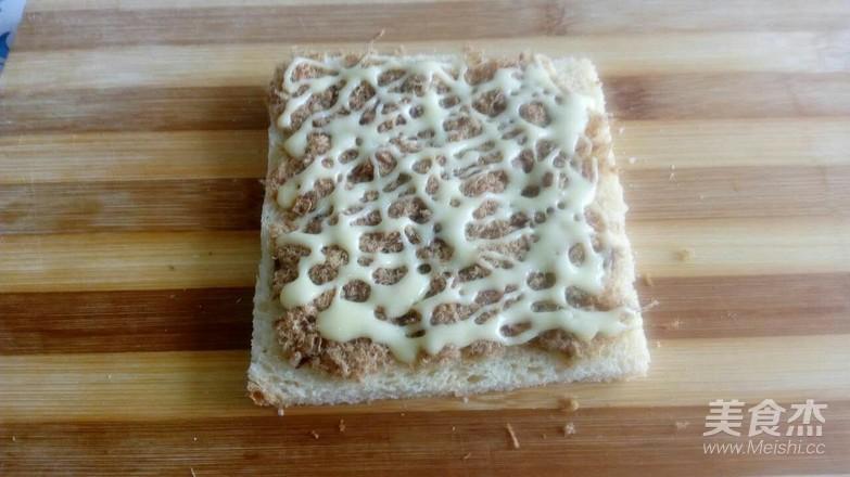肉松火腿三明治怎么煮