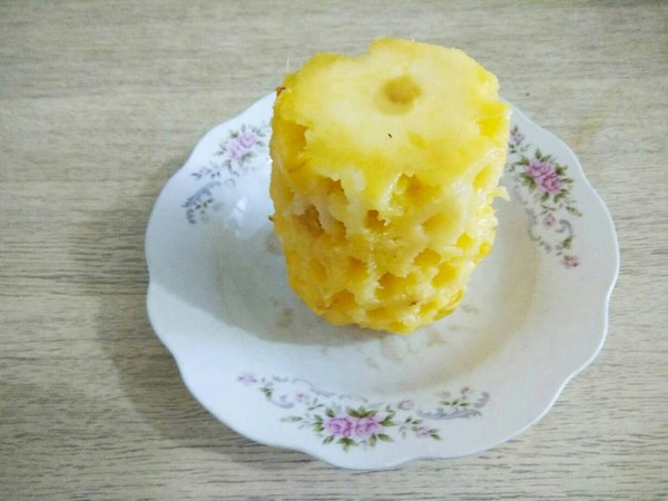 冰糖菠萝罐头的做法图解