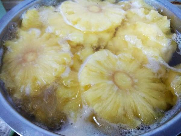冰糖菠萝罐头怎么做