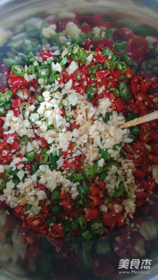 自制辣椒酱的家常做法