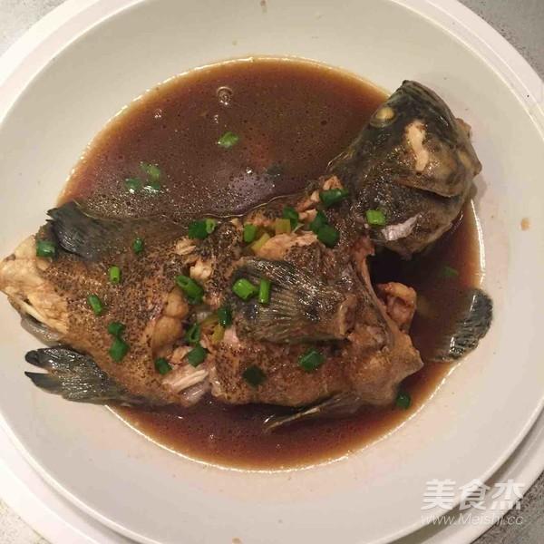 红烧石斑鱼的简单做法