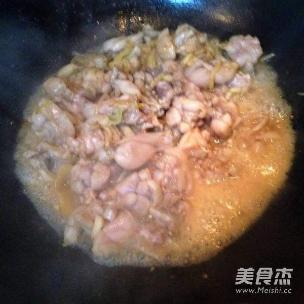 干锅牛蛙怎么吃