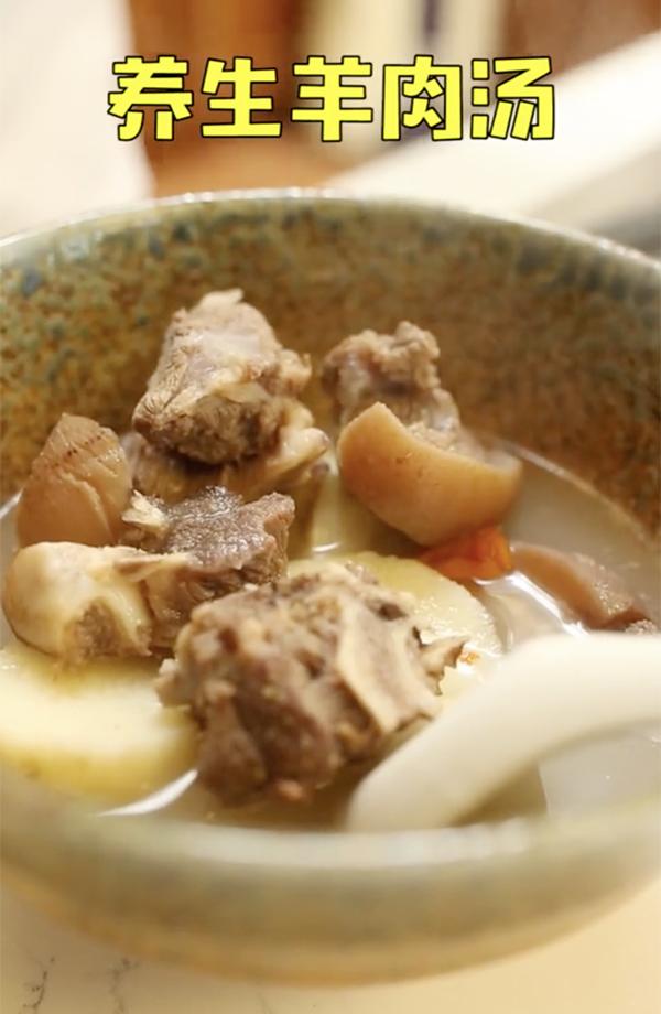 养生羊肉汤